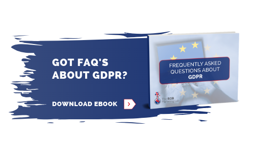 GDPR FAQ - all the answers you need