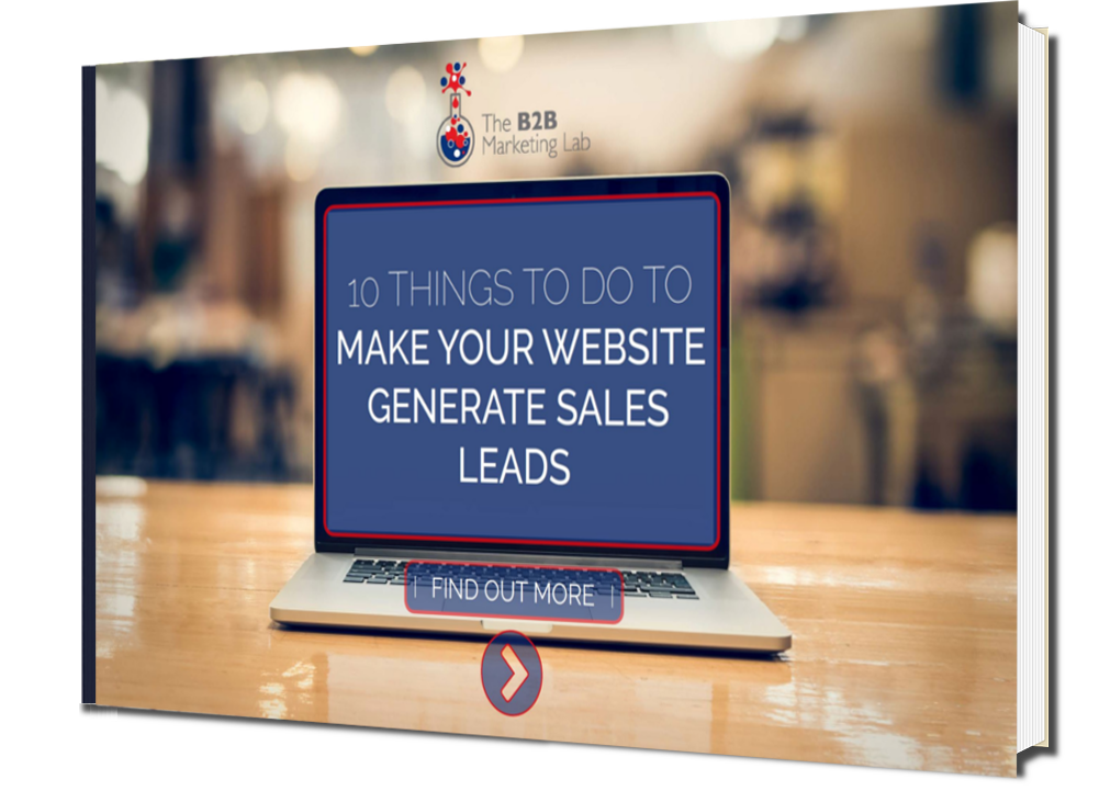 Make Your Website Generate Sales Leads eBook