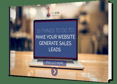 Make Your Website Generate Sales Leads eBook