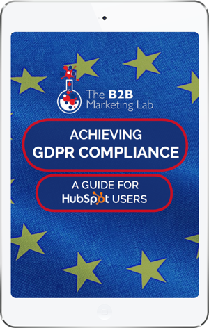Achieving GDPR Compliance for HubSpot Users eBook