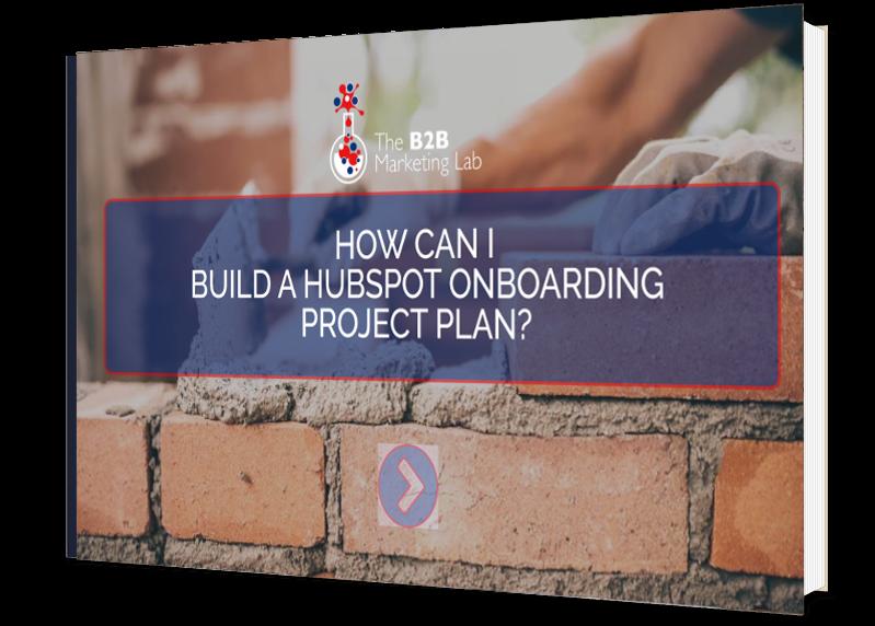 Build a HubSpot Onboarding Project Plan eBook