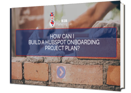 How Can I Build a HubSpot Onboarding Project Plan eBook