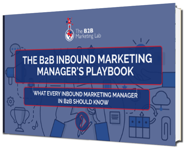 B2B Inbound Marketing Manager's Playbook eBook