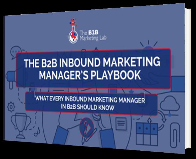 B2B Inbound Marketing Manager's Playbook eBook