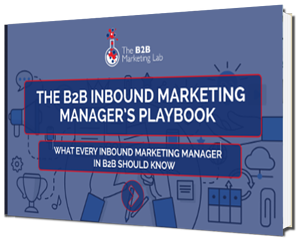 Inbound Marketing Manager's Playbook eBook