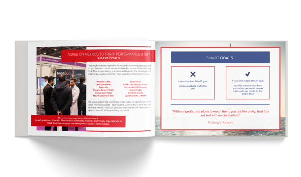 HubSpot Setup eBook - internal pages