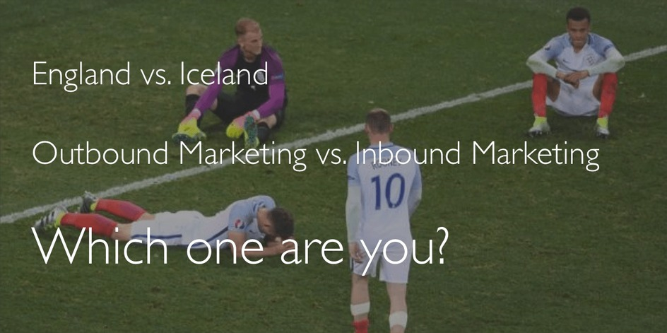 Outbound marketing versus Inbound Marketing. Which one are you?