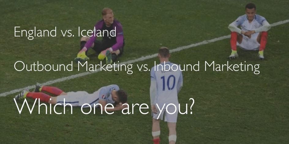 Outbound marketing versus Inbound Marketing. Which one are you?