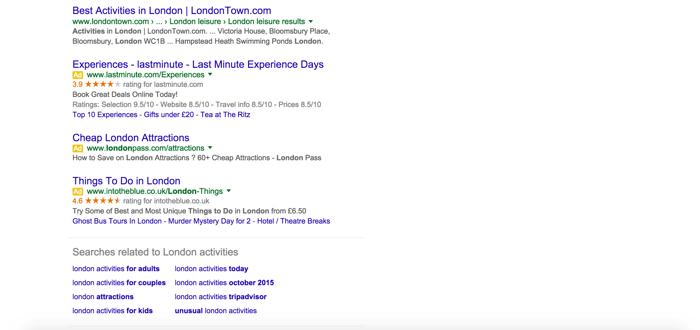 Google Search Ads New Layout - Bottom