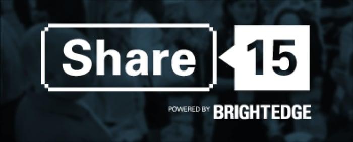 Share 2015 Brightedge B2B Marketing Lab