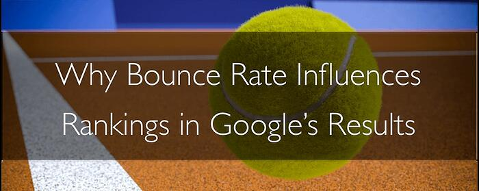 Bounce Rate's influence on ranking
