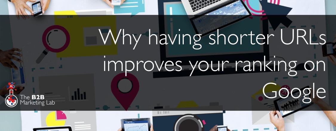 Why having shorter URLs improves your ranking on Google