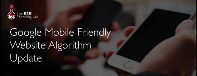 Google Mobile Algorithm