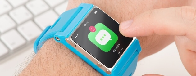 Wearable devices and social media