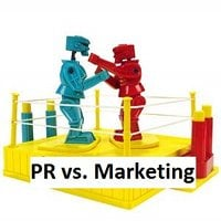 The blurred boundaries of PR and Marketing