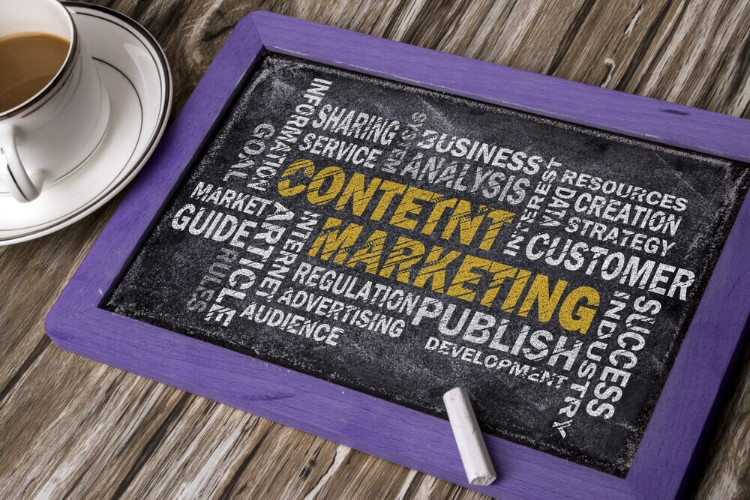 Content creation for B2B