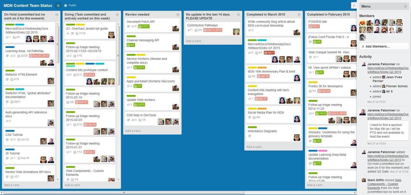 Top Marketing Apps - Trello