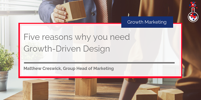 Growth Driven Design blog image