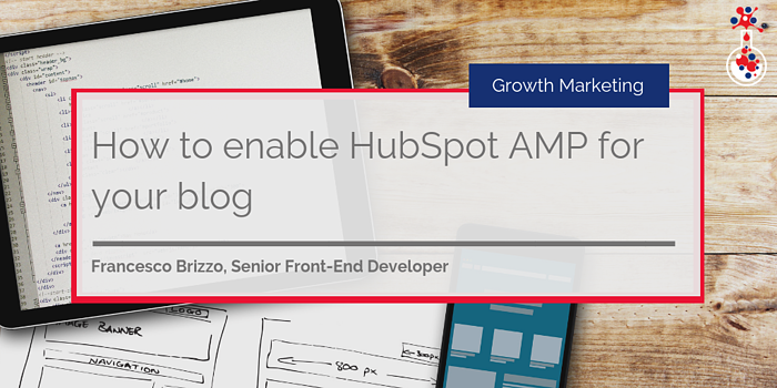 How to enable HubSpot AMP blog image