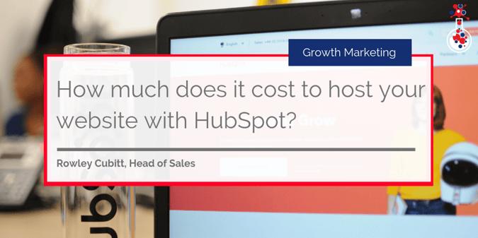 HubSpot CMS cost blog post