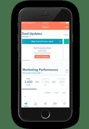 HubSpot Mobile App