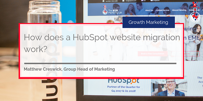 HubSpot Website Migration blog image