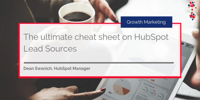 HubSpot lead sources blog image