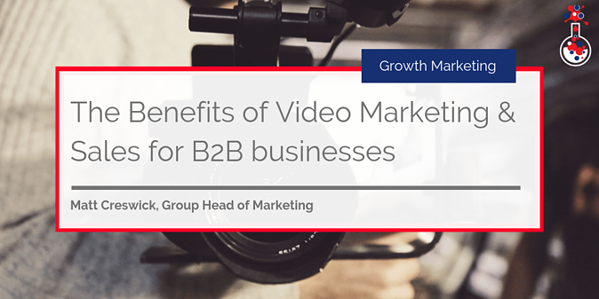 Benefits of video marketing & sales for B2B businesses