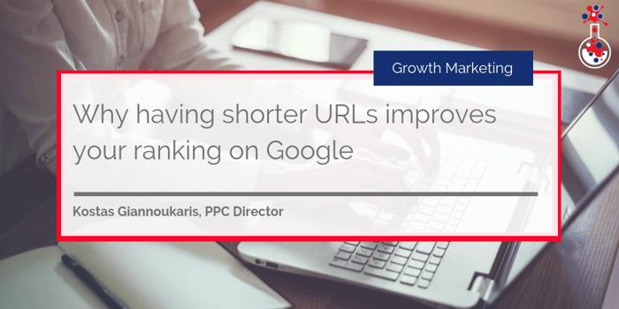 Shorter URLs improves ranking on Google blog image 1