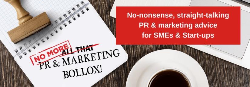 No more PR Marketing Bollox