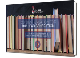 Content Creation for B2B Lead Generation eBook