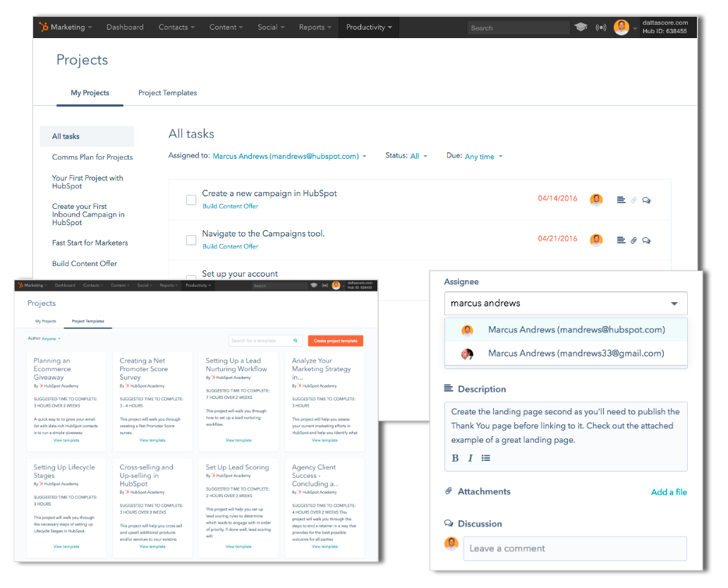 HubSpot Projects