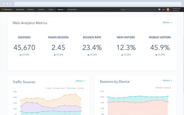Reporting Improvements HubSpot