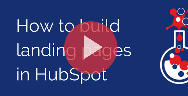 How to build landing pages in HubSpot