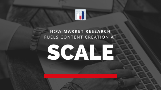 How market research fuels content creation at