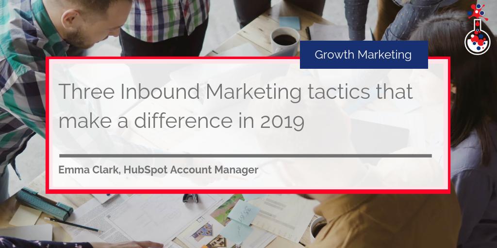 Inbound Marketing tactics blog image