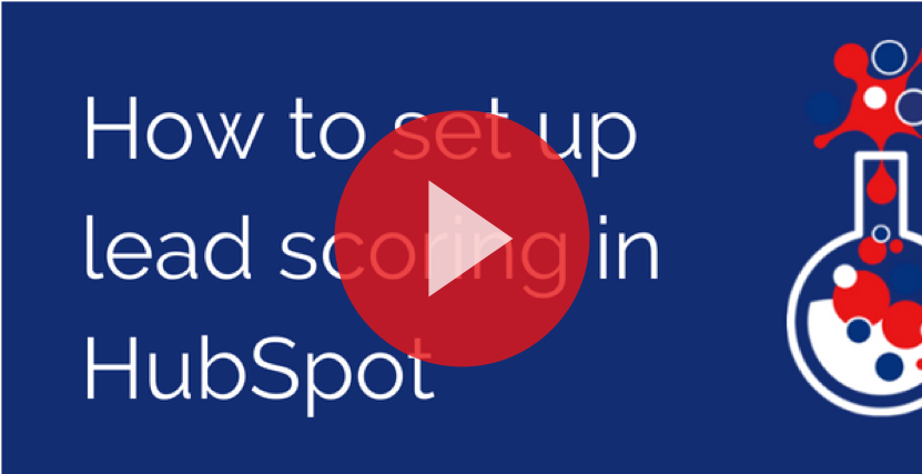 How to set up lead scoring in HubSpot