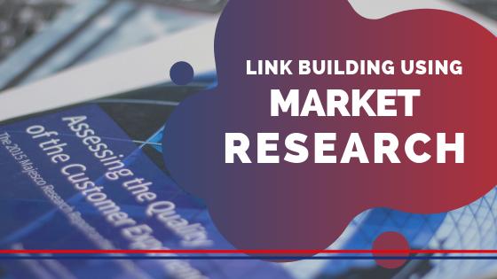 Market research link building blog image